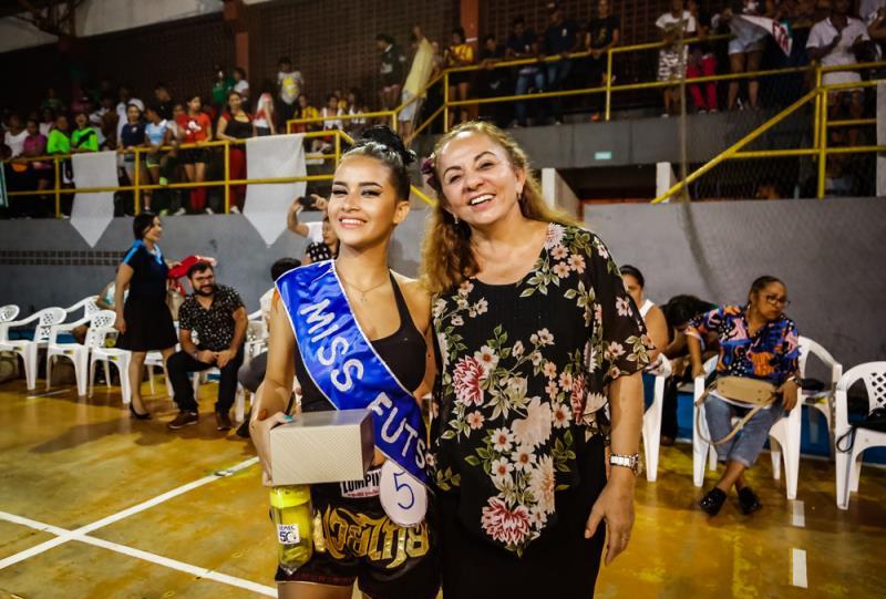 Ingrid Almeida foi eleita a Rainha do Futsal 2019