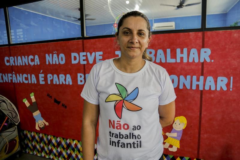 Mariam Aida Soares, diretora da Escola Wilson Bahia, incentivou a programação feita na escola