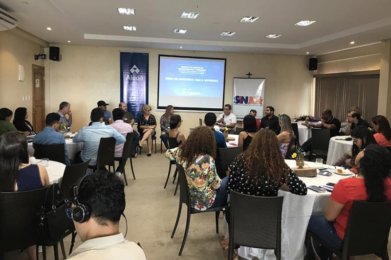 O jornalismo e a Amazônia foi um dos temas debatidos no encontro.