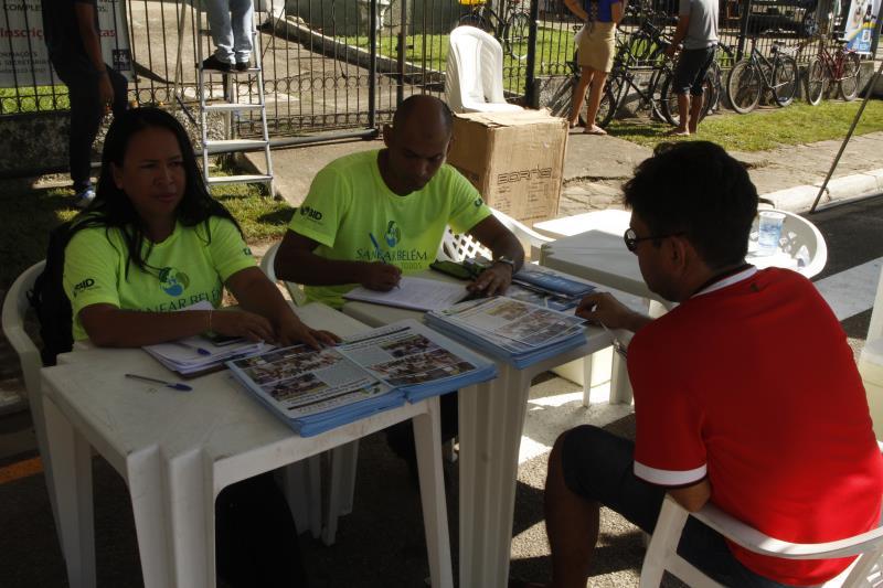 2019.06.26 - PA - Belém - Brasil: Prefeito Zenaldo Coutinho participa do programa Prefeitura no Bairro na Cremação.