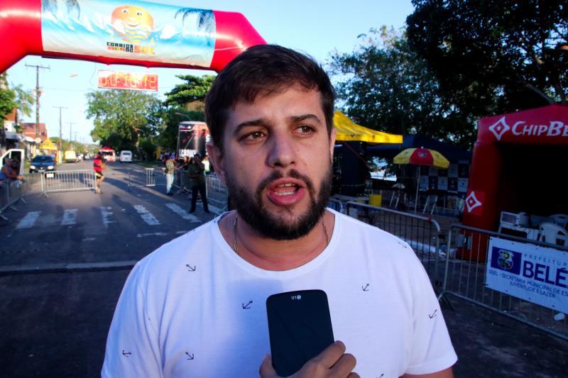 Na foto: O secretário da SEJEL, Wilson Neto