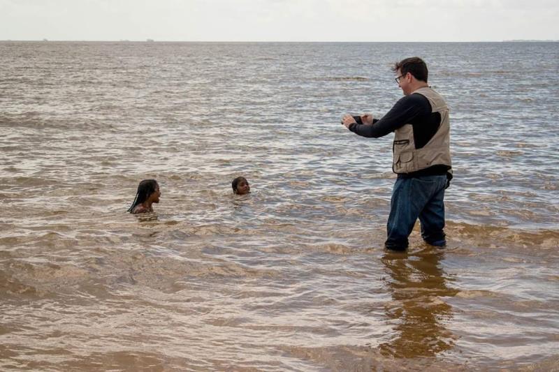 O fotógrafo Fernando Sette, da Comus, eternizou, em cada imagem, os pontos escolhidos para a série especial. Se preciso for, ele entra nas águas dos rios para garantir as melhores fotos.