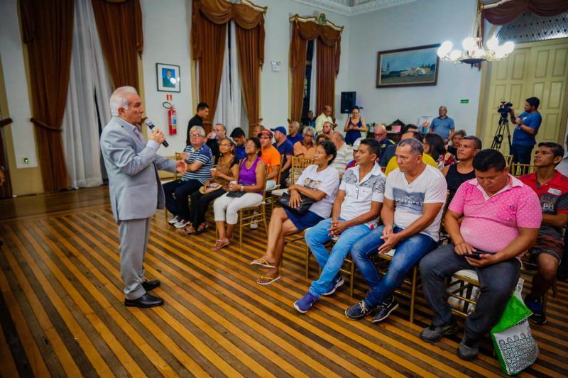 Na foto: O Secretário da SECON, Rosivaldo Batista