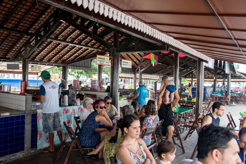 A tapiocaria da Vila de Mosqueiro já é considerada um ponto turístico gastronômico.