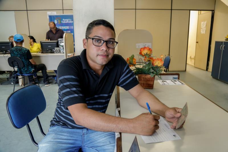 Robson Araújo destacou que é muito importante fazer cursos, como os ofertados pelo Portal do Trabalhador, porque eles ampliam a oportunidade de emprego