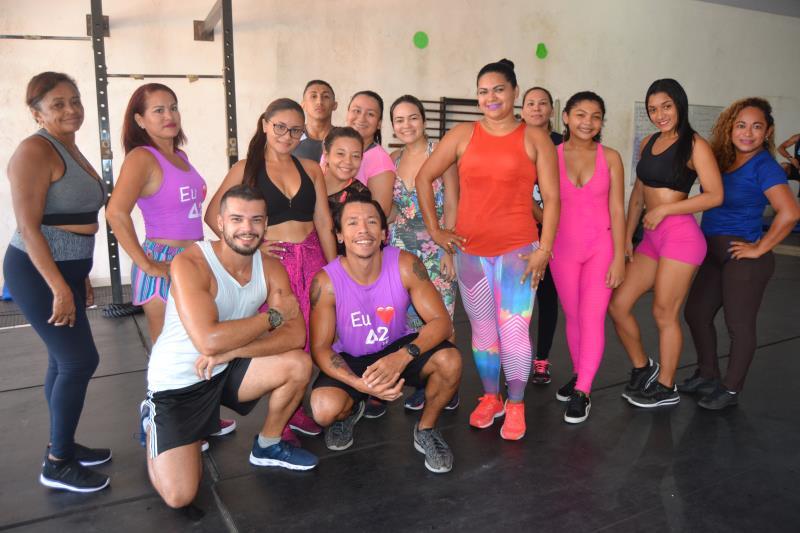 Academia Elite, levará a melhor equipe de ginastica ritmica para a praia do Cruzeiro.