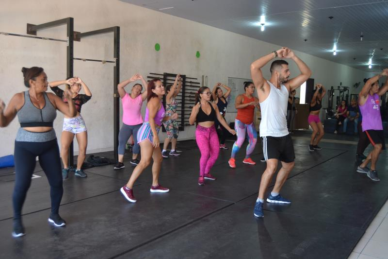 A preparção nas academias com aulões de dança e treino funcional estão a todo vapor.