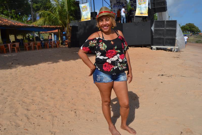 Moradora há 40 anos em Icoaraci Rosangêla Ferreira sentia falta de uma programação tão animada no distrito