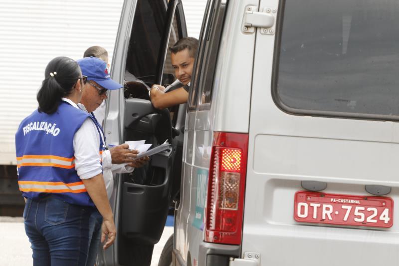 2019.07.11 - PA - Belém - Brasil: Fiscalização da Semob, Guarda Municipal e Arcon em São Brás.