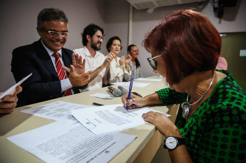 Zenaldo Coutinho ressaltou o trabalho, a importância do Conselho e o momento de muita produção na cultura do município