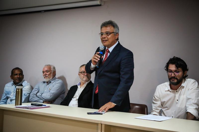 O prefeito de Belém, Zenaldo Coutinho, deu posse aos novos membros do Conselho do Patrimônio