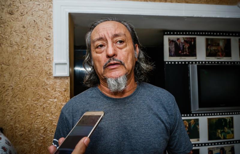 João Silva, morador do bairro da Campina, é assíduo frequentador do Cine Olympia