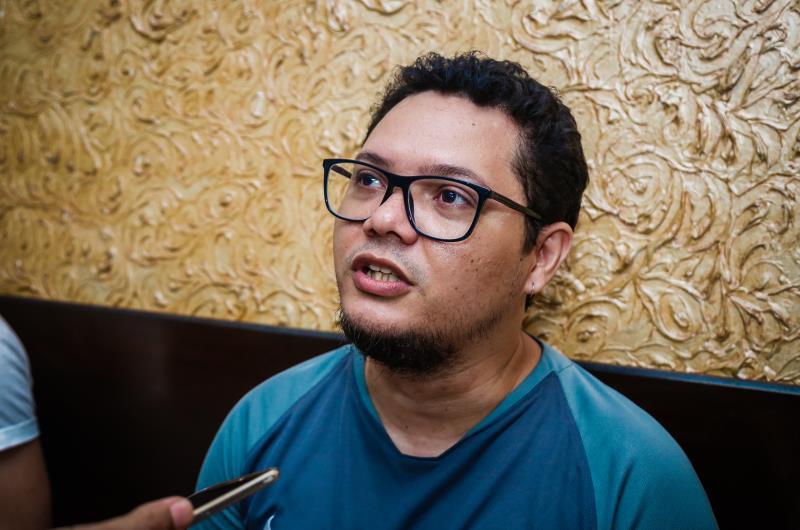 O motorista de aplicativo Gil Fernando contou que leu sobre a mostra, se interessou e até convidou alguns amigos