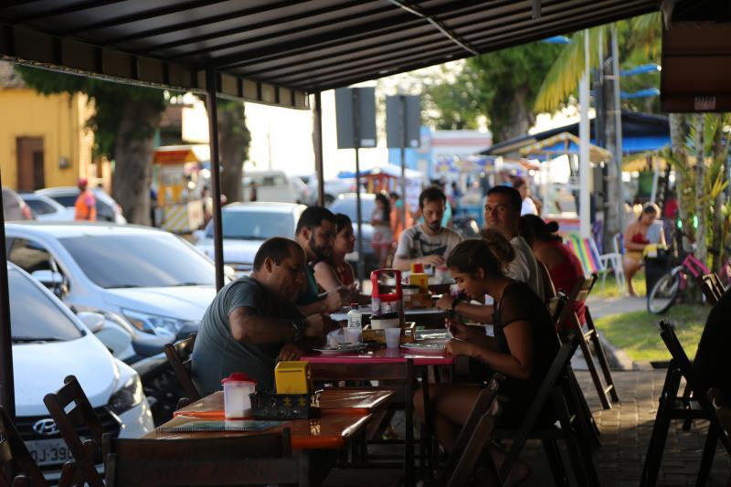 O público, além da saborear os pratos disponíveis no Circuito, vai ajudar a escolher a Melhor Tapioca de Mosqueiro