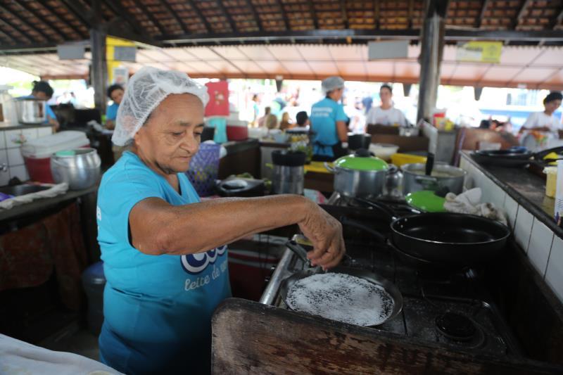 As tapioqueiras de Mosqueiro são famosas e muito procuradas na ilha