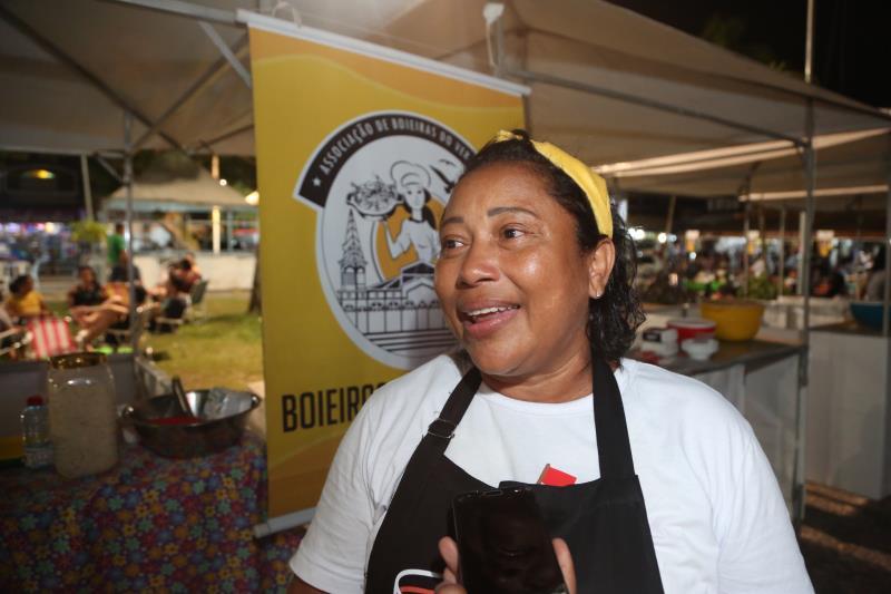 Além das tapioqueiras e de chefs de cozinha de Belém, o evento tem a participação das boeiras do Ver-o-Peso