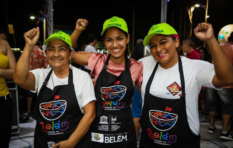 Na Foto: Cirene, Monique  Félix, Michelle  Araújo
