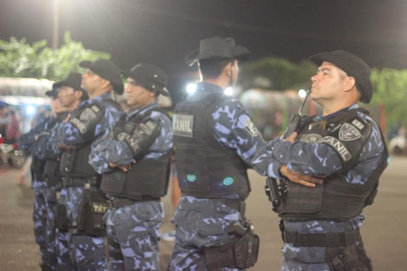 Agentes da Guarda Municipal de Belém garantiram a segurança do público que compareceu aos shows