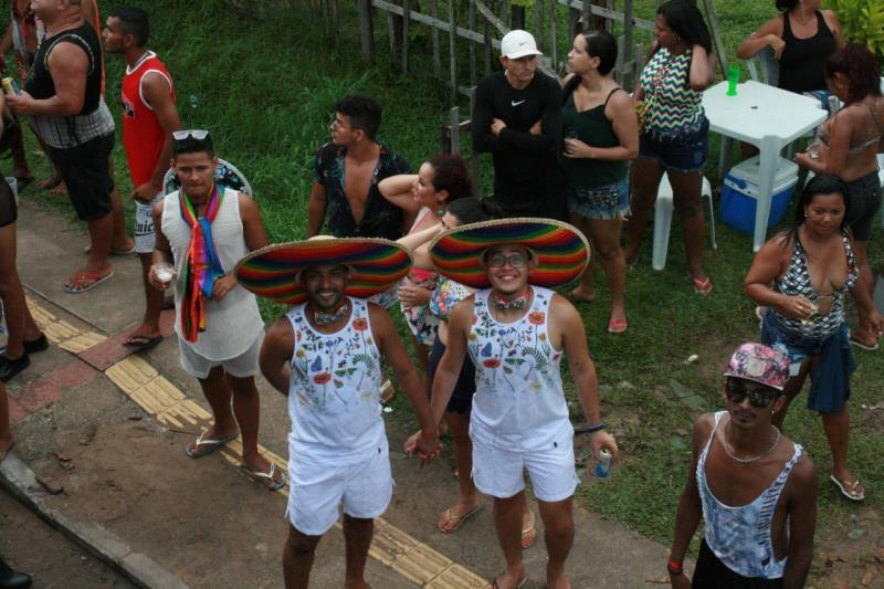 A participação do público é sempre muito grande na Parada do Orgulho LGBTI, em Mosqueiro