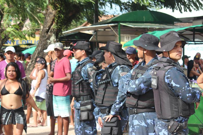 No último final de semana, a Guarda Municipal de Belém esteve presente com 30 agentes e seis viaturas