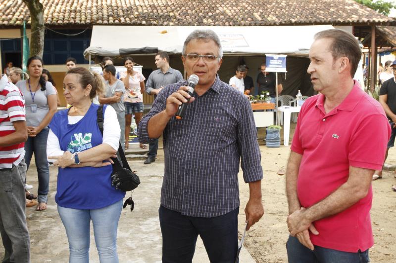 2019.07.30 - PA - Belém - Brasil: Prefeito Zenaldo Coutinho participa do programa Prefeitura no Bairro no Benguí.