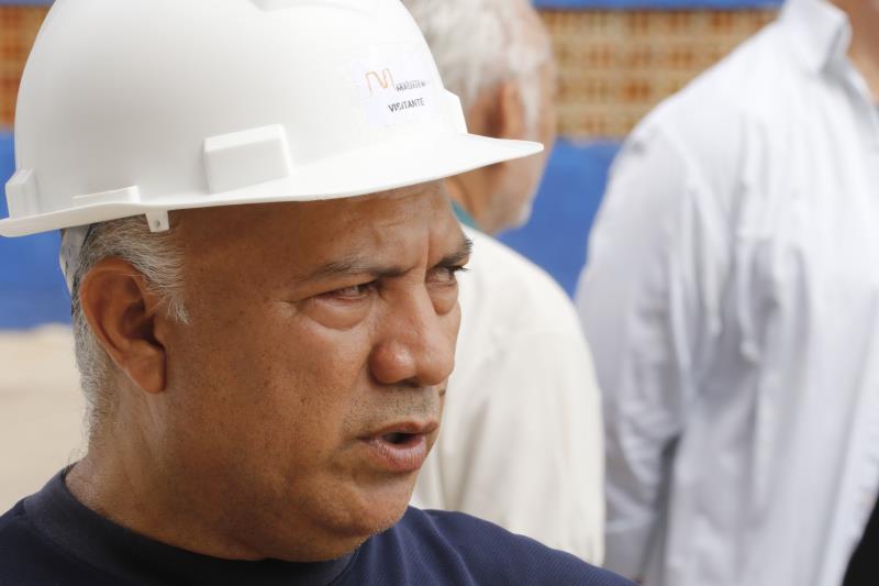 Deodato de Oliveira Jr., presidente da Escola Grêmio Recreativo Escola de Samba Paixão Rubronegro, elogiou as obras que reformaram a Aldeia Amazônica