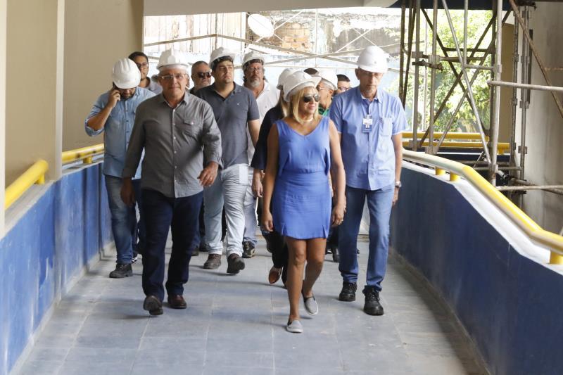 As obras estão reformando todas as áreas de ambiente, não apenas os espaços já utilizados pela Prefeitura de Belém, mas toda a estrutura da Aldeia