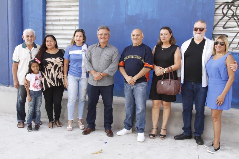 2019.08.02 - PA - Belém - Brasil: Prefeito Zenaldo Coutinho visita obras de reforma da Aldeia Amazônica.