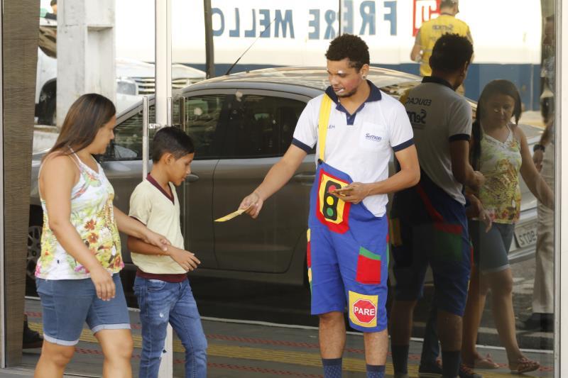 2019.08.05 - PA - Belém - Brasil: Operação Volta às Aulas da Semob na Escola Adventista.