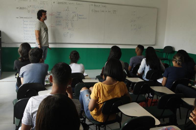 2019.08.05 - PA - Belém - Brasil: Volta às aulas no Pré Vestibular Municipal de Belém.