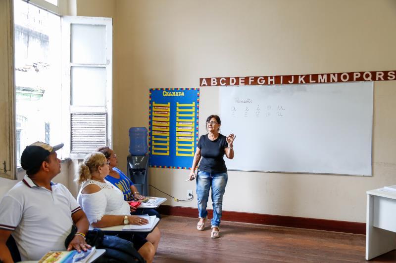 As aulas do projeto Alfabetização em Movimento, promovido pela Prefeitura de Belém, por meio da Semec, foram retomadas na segunda-feira, 5,  dando início ao segundo semestre do curso