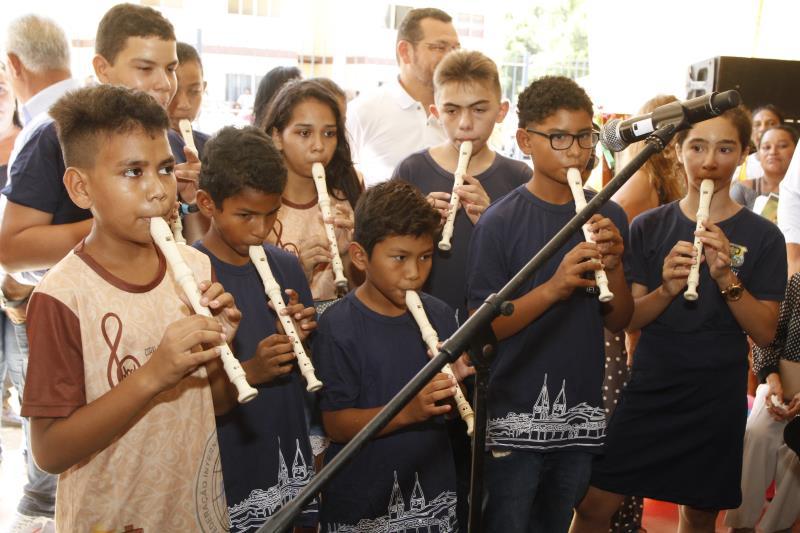 2019.08.07 - PA - Belém - Brasil: Prefeito Zenaldo Coutinho inaugura Escolas e Unidade do CRIE no residencial Quinta dos Paricás.