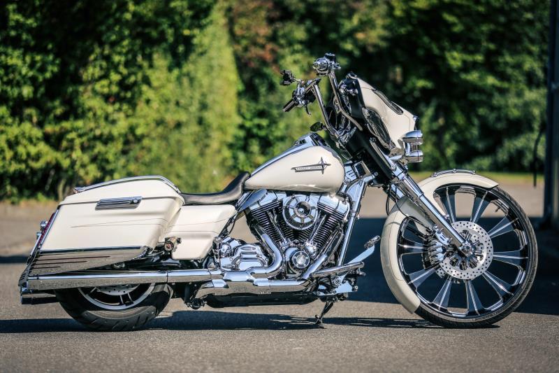 Estação das Docas recebe exposição de motos Harley-Davidson