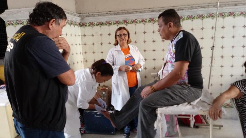 Os voluntários receberão orientações básicas em primeiros-socorros para atuar durante as peregrinações da quadra nazarena