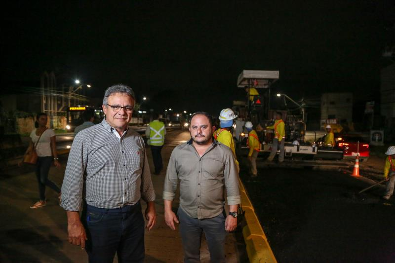 Asfalto BRT Augusto Montenegro