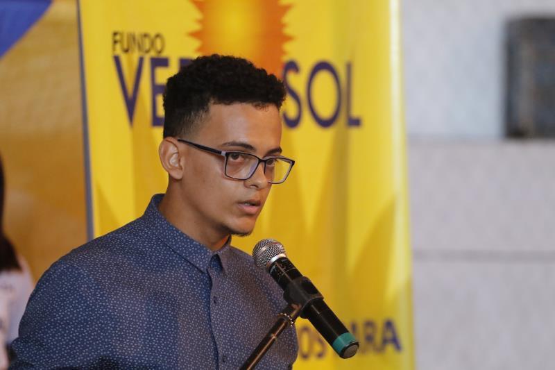 2019.08.09 - PA - Belém - Brasil: Prefeito Zenaldo Coutinho participa de solenidade de certificação de jovens e adultos dos cursos de qualificação profissional do Fundo Ver-O-Sol. Elivelton Lima.