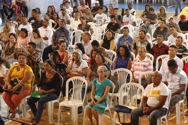 2019.08.09 - PA - Belém - Brasil: Prefeito Zenaldo Coutinho participa de solenidade de certificação de jovens e adultos dos cursos de qualificação profissional do Fundo Ver-O-Sol.