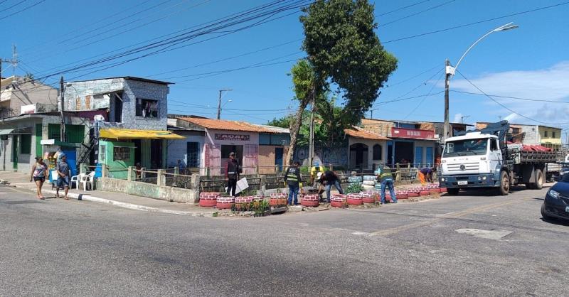 A rua Doutor Assis, próximo ao canal da Tamandaré, era alvo há dez anos do descarte irregular de lixo