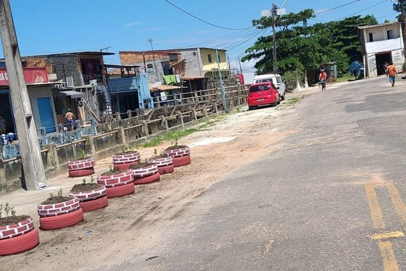 Somente este ano, 80 pontos que antes eram locais de descarte irregular de resíduos na cidade foram recuperados pela Prefeitura, juntamente com os moradores