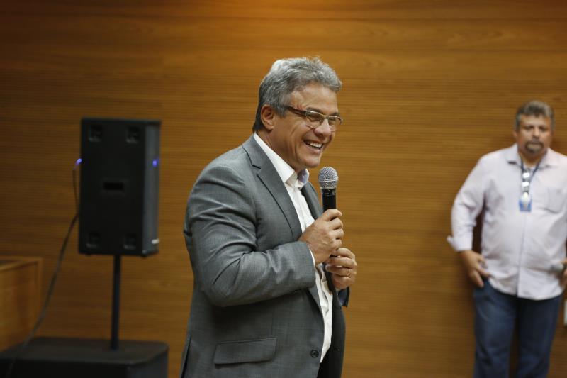 O prefeito de Belém, Zenaldo Coutinho, participou da cerimônia de lançamento e disse que o programa irá ajudar a toda sociedade de Belém