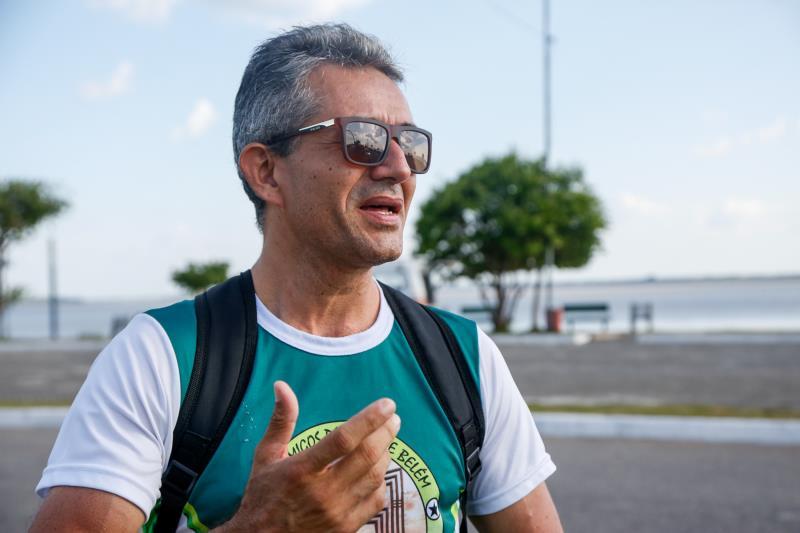 De acordo com Célio Guimarães, da Associação dos Amigos da Orla, o plantio das mudas ajudará na arborização do Portal da Amazônia e, por conseguinte, possibilitará maior visitação àquele espaço