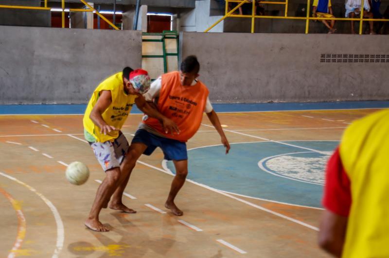 O torneio começou nesta terça-feira, 20, com disputa de futebol de salão, e segue até o dia 22 (quinta-feira)