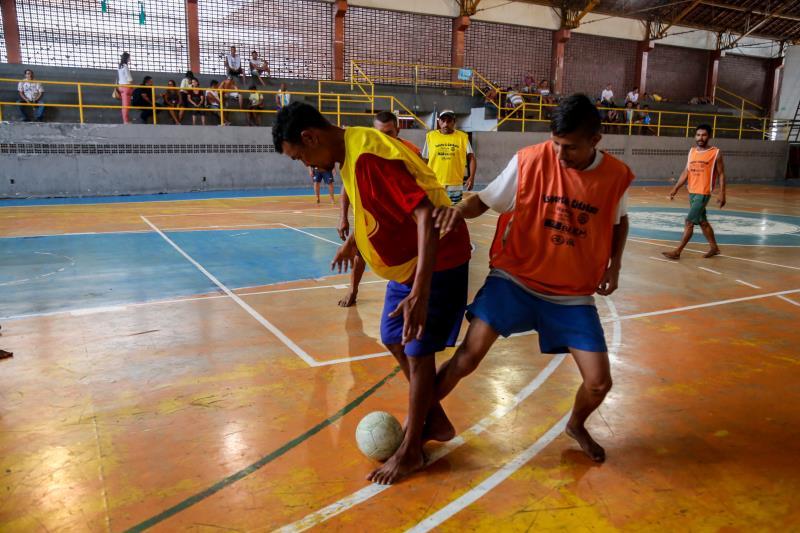 A programação esportiva contará com disputas de futsal, voleibol, além de basquete e dominó