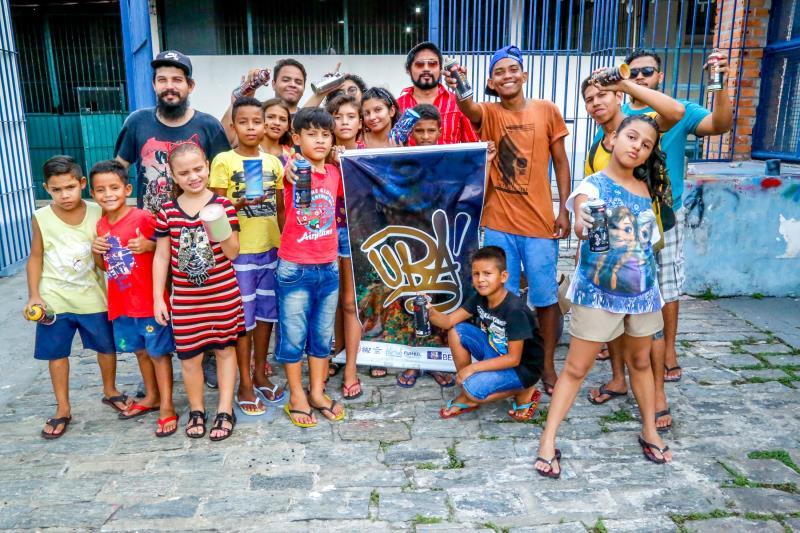 O projeto Ubá é patrocinado pela Prefeitura de Belém, por meio do edital de cultura da Fundação Cultural do Município de Belém (Fumbel)