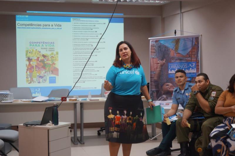 Joana Fontoura, Oficial de Adolescentes do UNICEF na Amazônia.