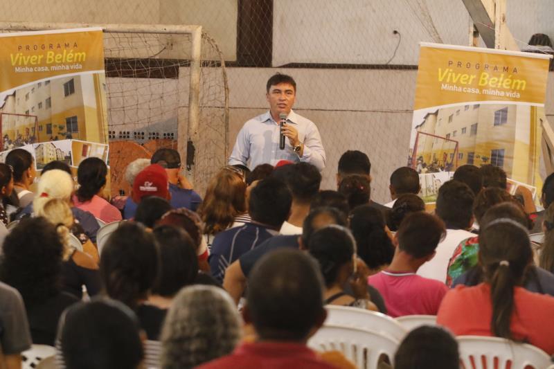 Maikenn Souza, titular da Sehab, explicou que a parceria com o agente financiador, Caixa Econômica, demonstra os critérios para seleção dos inscritos