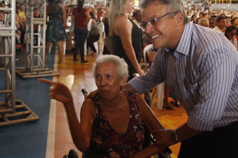 A visita do prefeito Zenaldo Coutinho à reunião dos pré-selecionados serviu de incentivo a todos que estavam no ginásio Altino Pimenta