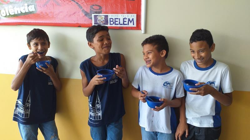 Semana do Açaí na Merenda Escolar celebra o Dia do Açaí, transcorrido em 5 de setembro