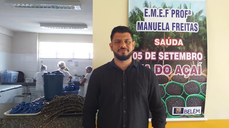 João Augusto Moraes, diretor da Fmae, explica que o objetivo é proporcionar uma alimentação saudável aos alunos e destacar a nossa a cultura alimentar