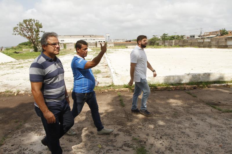 A área do antigo Iate Clube ficou sem uso durante muito tempo, mas irá receber obras de reforma, a partir do início de 2020